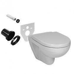 WC-istuimen liitososat
